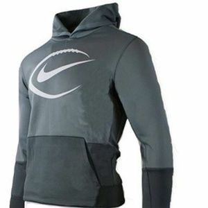 BOY'S NIKE FOOTBALL PULLOVER HOODIE SIZE SMALL NEW
